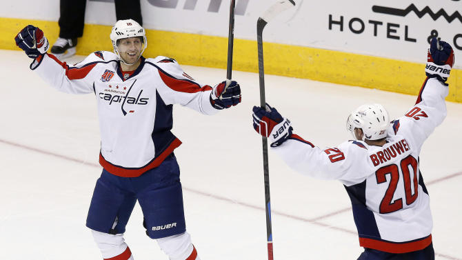 Capitals get winner in OT, beat Coyotes 2-1