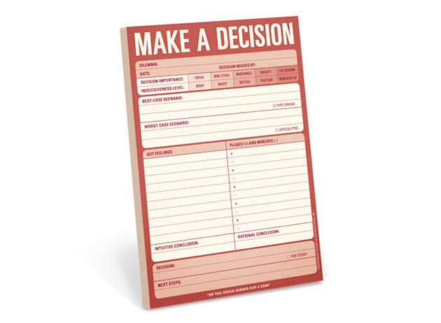 Make The Decisions for a Day