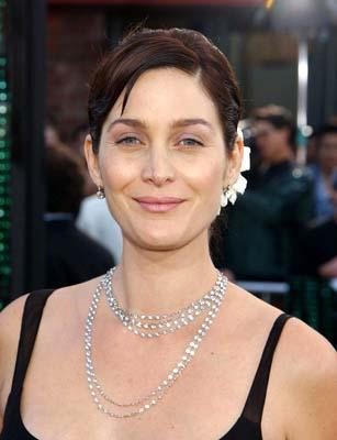 Premiere: Carrie Anne Moss of Red Planet at the Hollywood premiere of Warner Brothers' The Matrix: Reloaded - 5/7/2003
