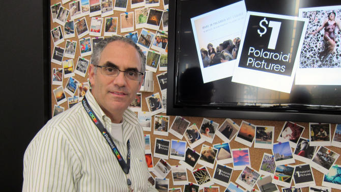 1st Polaroid-branded photo store opens in Fla.