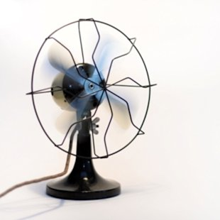 Creating a breeze with a cheap fan is a frugal alternative to lowering the thermostat.