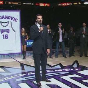 Stojakovic Gets Honored