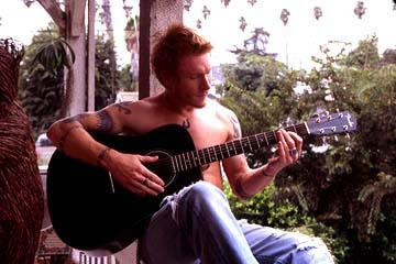 Zack Ward as August in Regent's April's Shower