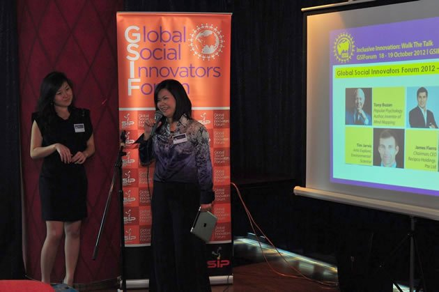 MP and president of SIP Penny Low hopes to to engage the hearts and minds of Singaporeans in the upcoming GSIF 2012. (GSIF photo)