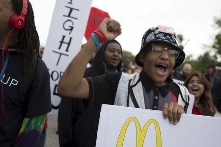 McDonald's CEO Says He's 'Incredibly Proud' of Pay Hike Amid Protests
