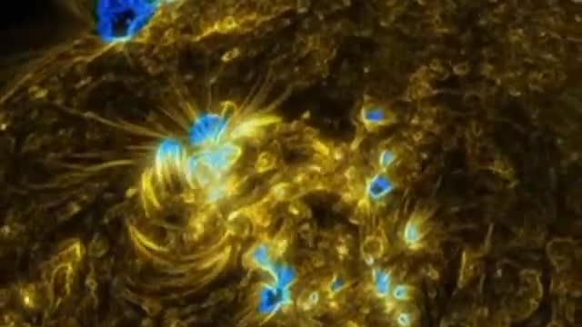 NASA releases new images of sun's surface