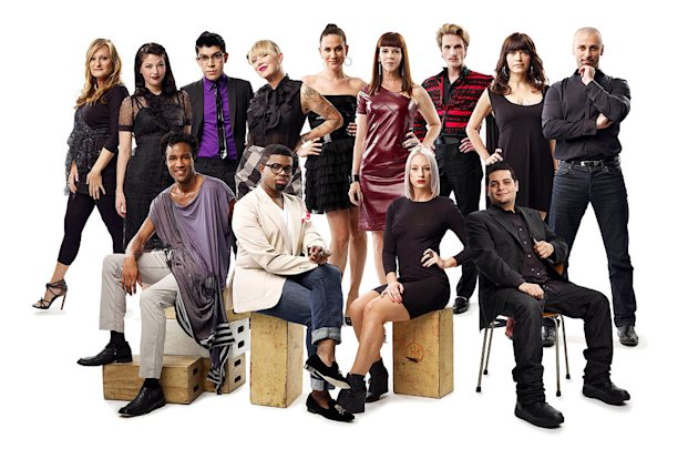 "13 former fan favorites and Project Runway superstars return to the catwalk in ""Project Runway All Stars."""