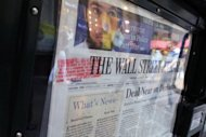 US daily newspapers gained online readers over the past six months, but not enough to make up for declining print circulation, industry data showed
