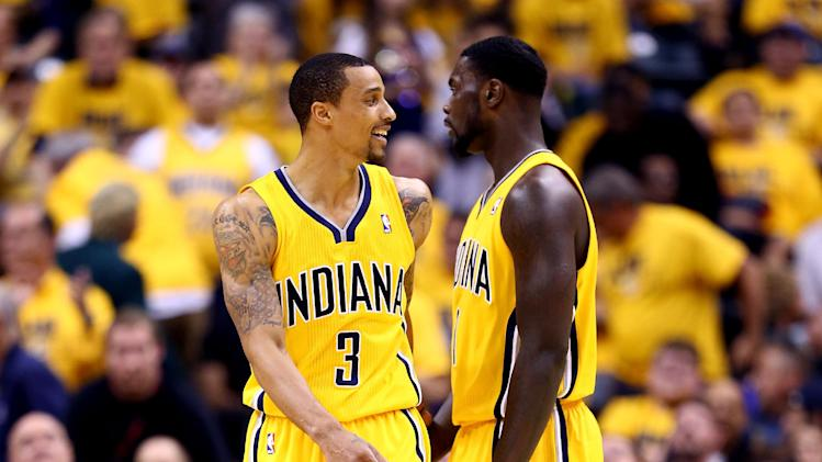 Pacers pull away from Heat 107-96 to take 1-0 lead