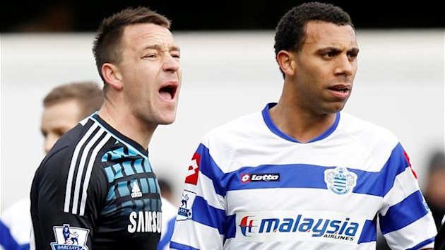 John Terry and Anton Ferdinand. Culture Minister Jeremy Hunt wants swearing banned from football