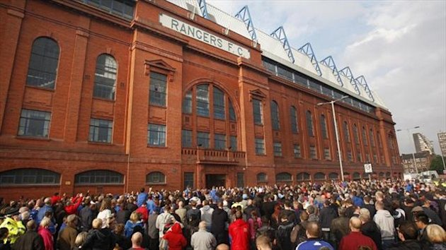 Rangers have announced operating losses