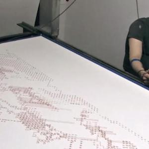 Tomorrow Daily 042: Robot uses human blood to make art, all hail BabyX, and more