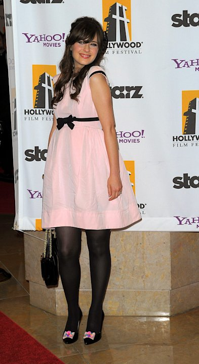 13th Annual Hollywood Awards Gala 2009 Zooey Deschanel