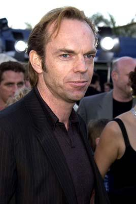Hugo Weaving wonders just how many nerds are wondering how Elrond the Elf King would fare against Neo at the Hollywood premiere of Warner Brothers' The Matrix: Reloaded