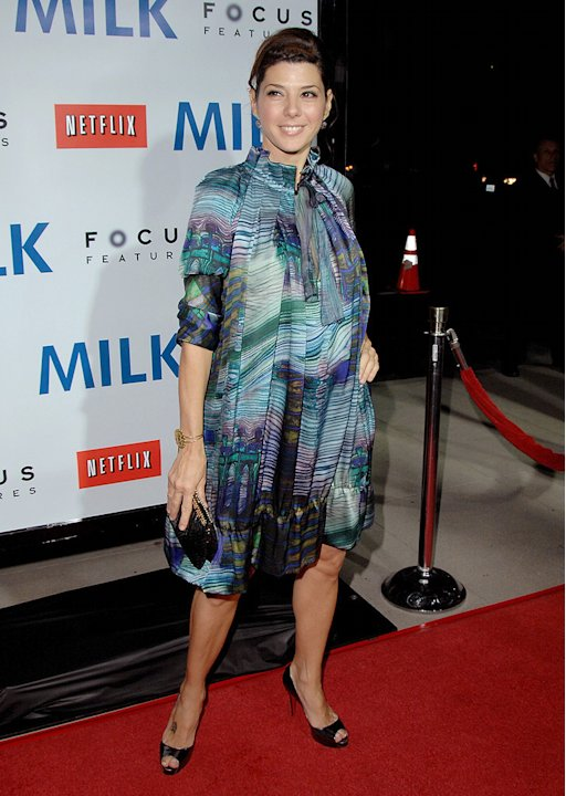 Milk Los Angeles Premiere 2008 Marisa Tomei