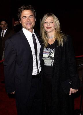 Rob Lowe and wife 53rd Annual Emmy Awards - 11/4/2001