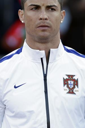 Ronaldo in starting lineup for Portugal