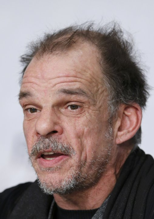 "Cast member Denis Lavant attends a news conference for the film ""Michael Kohlhass"" during the 66th Cannes Film Festival"