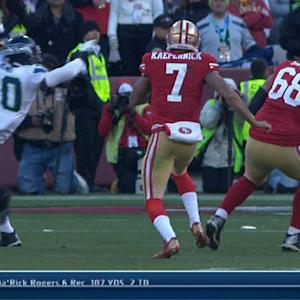 San Francisco 49ers quarterback Colin Kaepernick's big 3rd down conversion