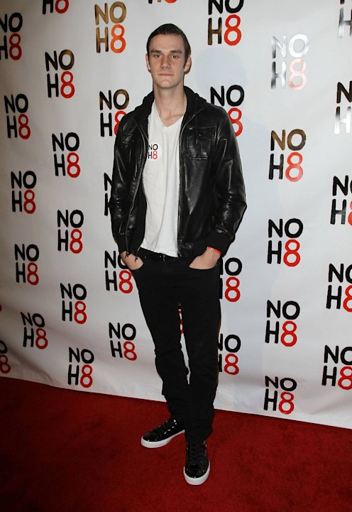 Cooper Hefner NOH8's 3 year Anniversary Celebration held at The House of Blues West Hollywood, California - 13.12.11    Mandatory Credit: FayesVision/WENN.com