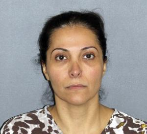 FILE - This file photo provided by the Irvine Police Department shows Meshael Alayban, who was arrested July 9, 2013 in Irvine, Calif., for allegedly holding a domestic servant against her will. Alayban, who prosecutors said is one of the wives of Saudi Prince Abdulrahman bin Nasser bin Abdulaziz al Saud, was expected to appear in an Orange County court for arraignment Thursday, July 11, 2013. (AP Photo/Irvine Police Department, File)