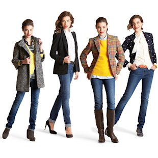 Slim jeans four ways, Jan 13, p41