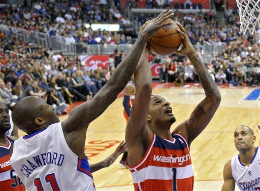 Clippers hold off upset-minded Wizards 94-87