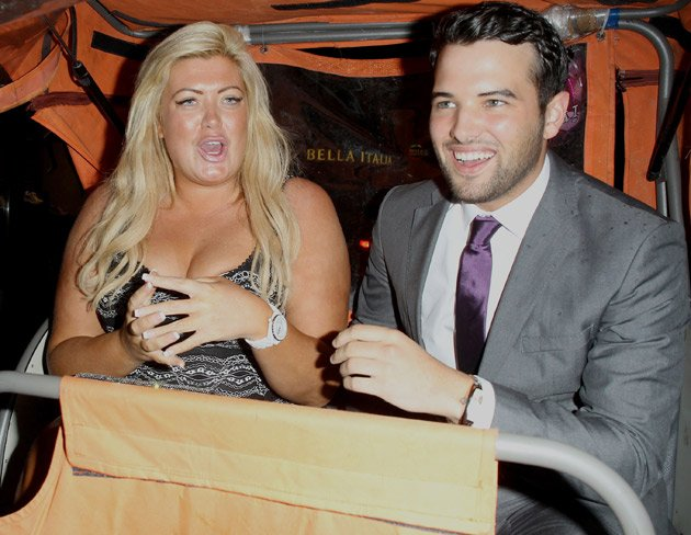 Gemma Collins, Ricky Rayment