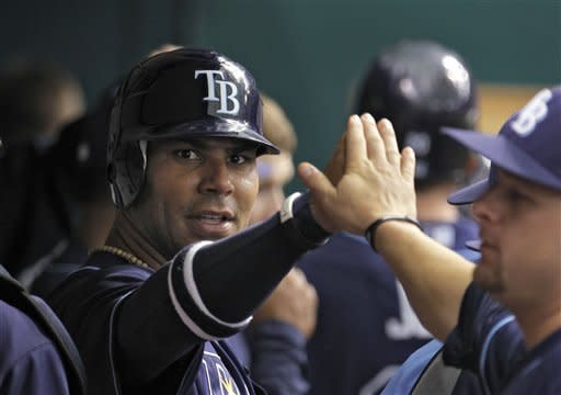 Rays beat Toronto 5-4 in 11 on Upton double