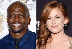 Terry Crews, Isla Fisher | Photo Credits: Frazer Harrison/Getty Images, Jamie McCarthy/WireImage