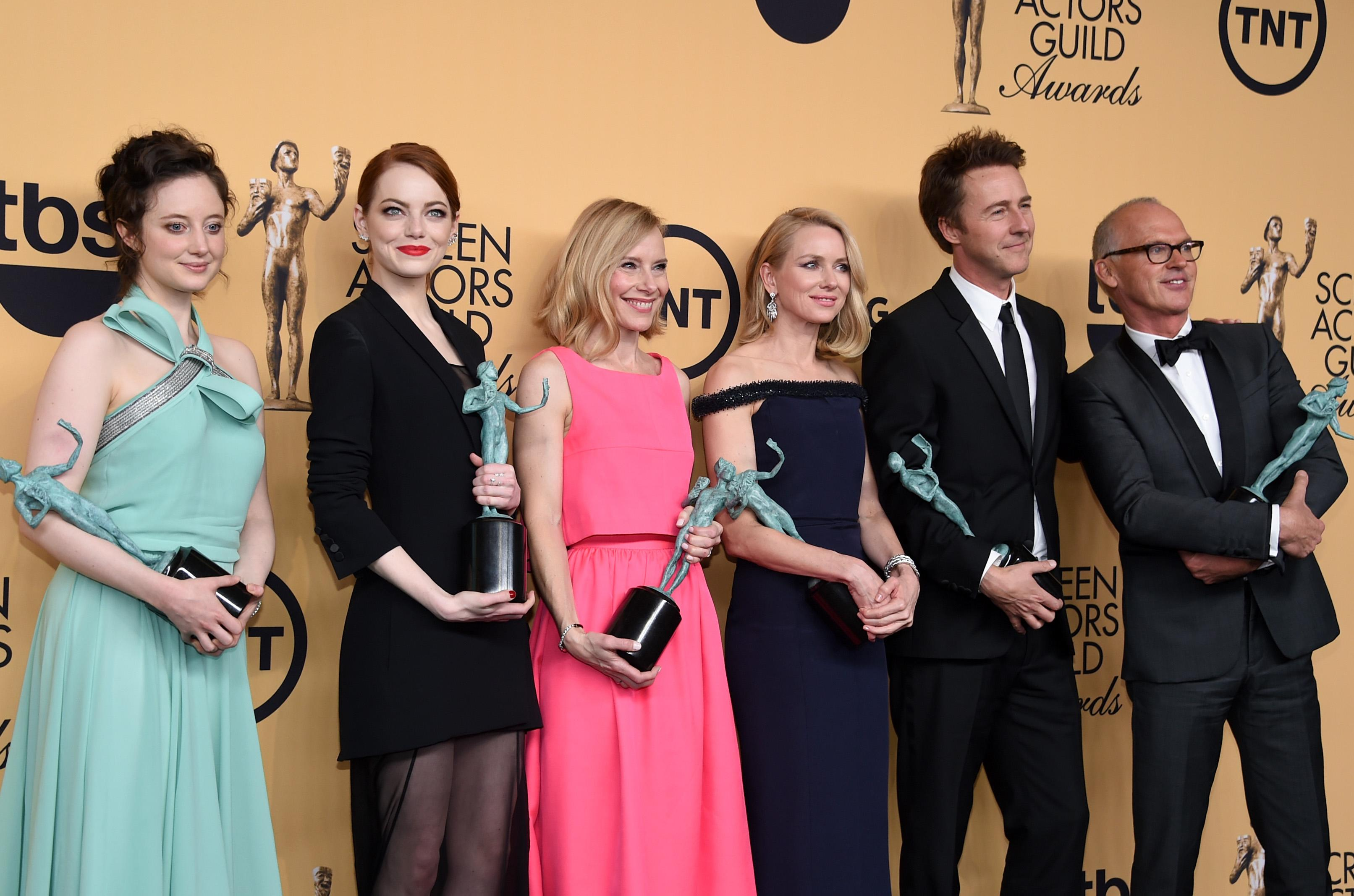 SAG Awards Winners: What They're Saying
