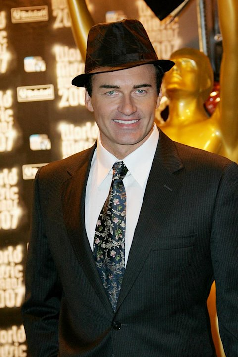 Julian McMahon attends the 2007 World Music Awards held at the Sporting Club on November 4, 2007 in Monte Carlo.