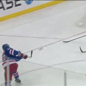 Derick Brassard ties it late from sharp angle