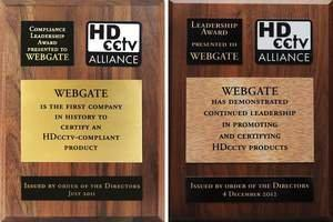 """WEBGATE Won the """"Compliance Leadership Award"""" for Two Consecutive Years in 2011 and 2012"""