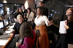 Here we go: Oprah's new network is up and running. (Courtesy of OWN Network)