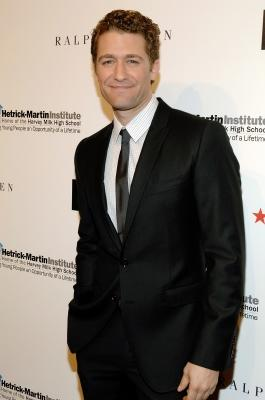 Matthew Morrison attends the 2010 Emery Awards at Cipriani, Wall Street, in NYC on November 9, 2010  -- Getty Images