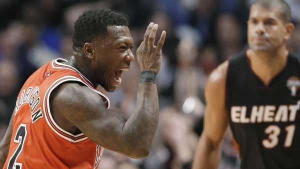 Miami Heat fall to Chicago Bulls sans Derrick Rose