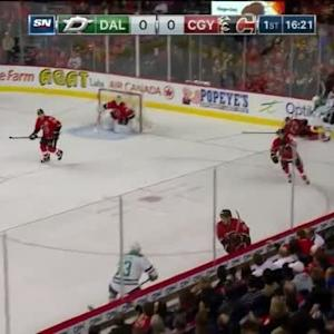 Patrick Eaves Hit on Kris Russell (03:41/1st)