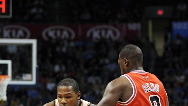 NBA: Chicago Bulls at Oklahoma City Thunder
