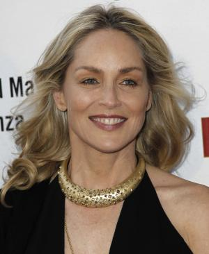 "FILE - In this Thurs., May 3, 2012 file photo, actress Sharon Stone arrives at A Better LA's ""In the Art of the City"" event in Los Angeles. Stone was sued May 23, 2012 in Los Angeles by Erlinda T. Elemen, the actress' former nanny for allegedly insulting her Filipino heritage and firing her after discovering Elemen had been paid overtime for working on family vacations and holidays. (AP Photo/Matt Sayles, File)"