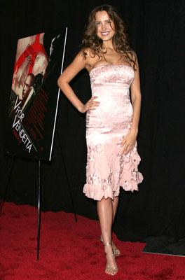 Petra Nemcova at the New York premiere of Warner Bros. Pictures' V for Vendetta