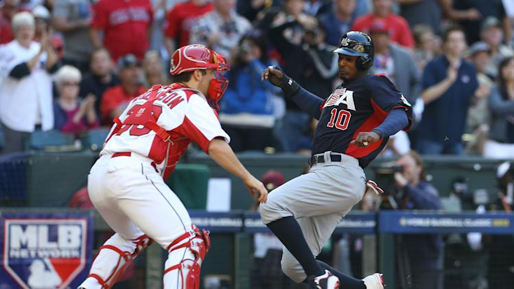 Baseball: World Baseball Classic-United States vs Canada