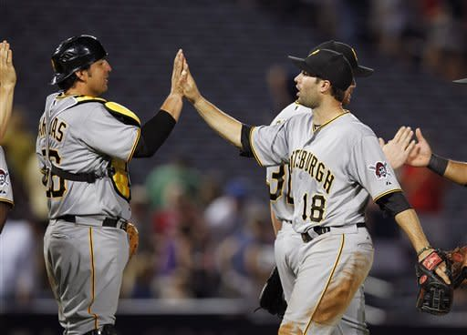 Pirates set season scoring high, beat Braves 9-3