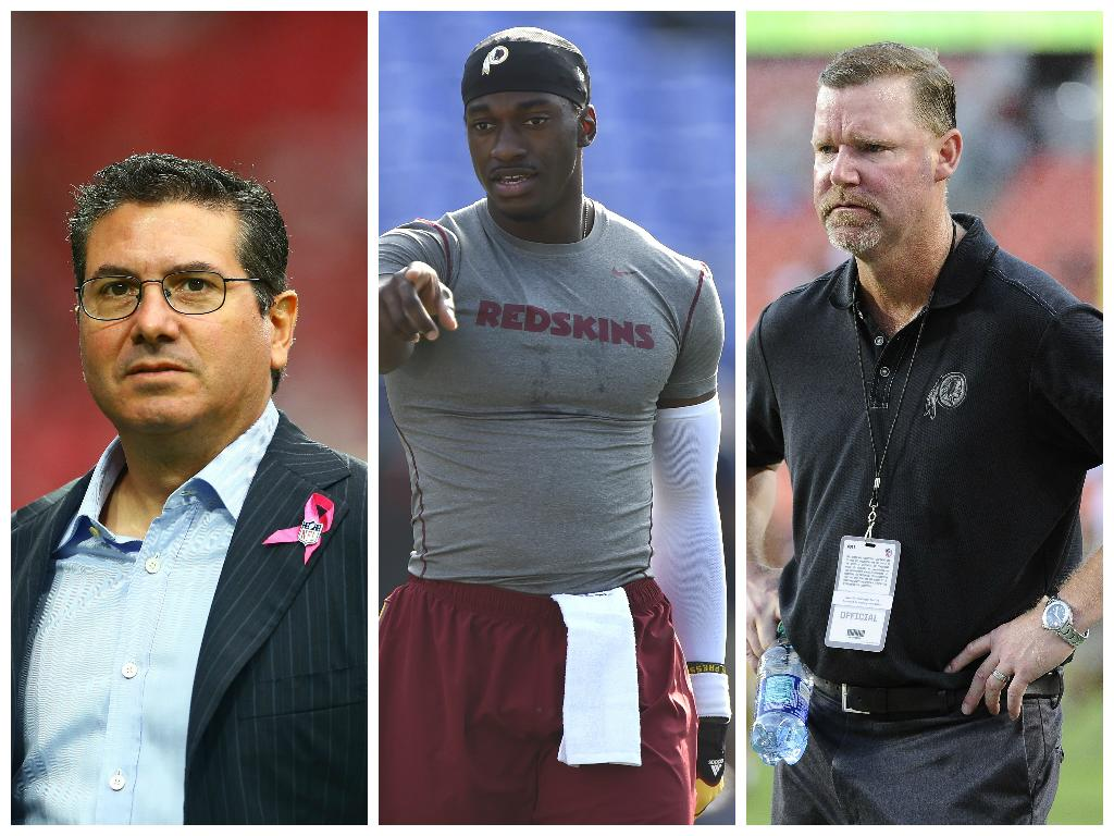 REPORT: Snyder, McCloughan on same page regarding RG3