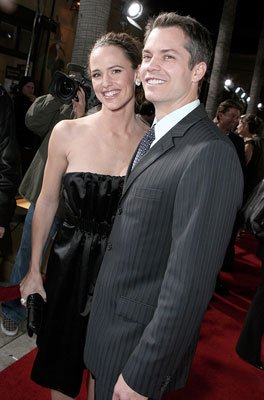 Jennifer Garner and Timothy Olyphant at the Hollywood premiere of Columbia Pictures' Catch and Release