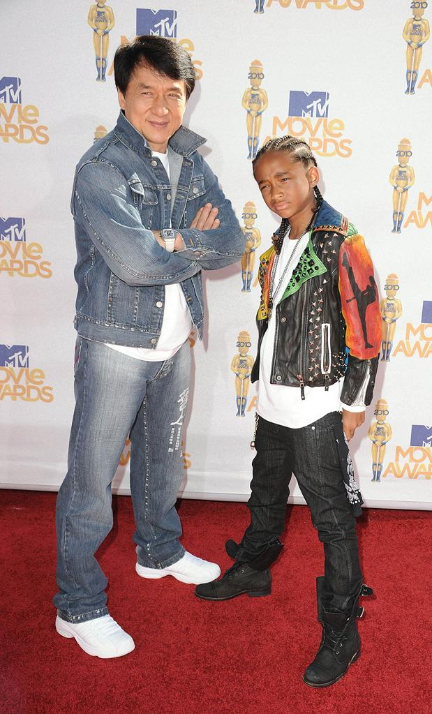 Fashion Report Card MTV Movie Awards 2010 Jackie Chan Jaden Smith
