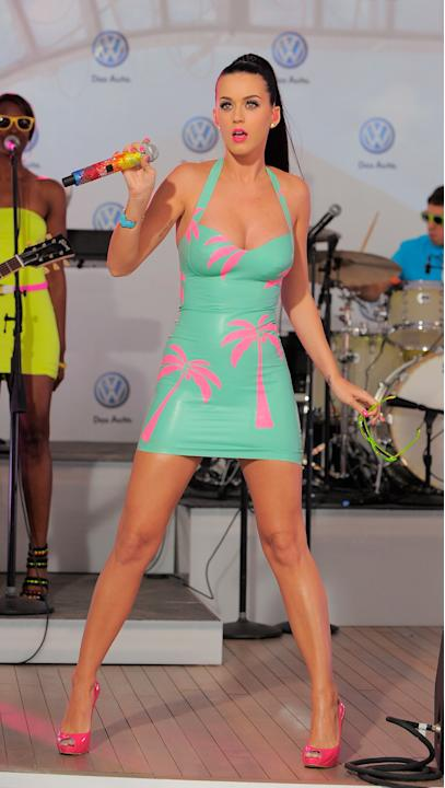 Katy Perry in Syren Latex