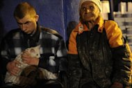 Victims of the flood rest in a temporary shelter in Krymsk. Flash floods deluged Russia&#39;s southern Krasnodar, killing at least 134 people in the region&#39;s worst natural disaster in decades, officials and witnesses said Saturday