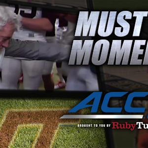 Frank Beamer's Funny Dance After Military Bowl Win | ACC Must See Moment