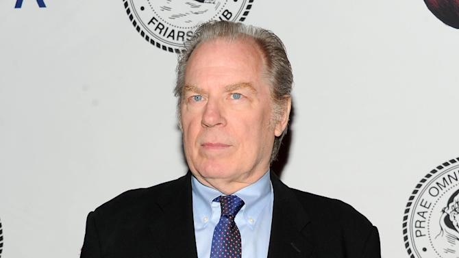 """FILE - This April 5, 2013 file photo shows actor Michael McKean at the Friars Club Roast of Jack Black at the New York Hilton in New York. Producers of """"All the Way,"""" a play about President Lyndon B. Johnson, said Tuesday, Nov. 26, that McKean will play former FBI director J. Edgar Hoover and Brandon J. Dirden will portray the civil rights icon Martin Luther King Jr. when Robert Schenkkan's play makes it to the Neil Simon Theatre early next year. (Photo by Evan Agostini/Invision/AP, File)"""
